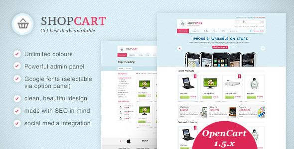 ShopCart - OpenCart theme with powerful options Miscellaneous