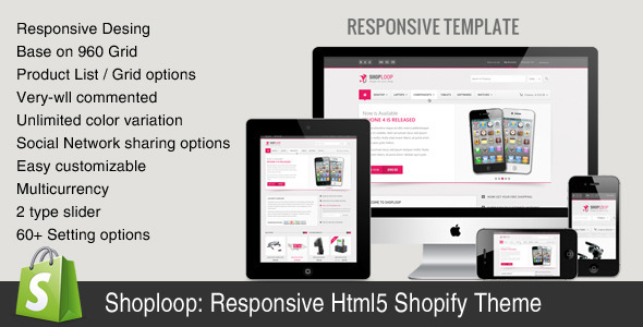 Shoploop: Responsive HTML5 Shopify Theme Shopping