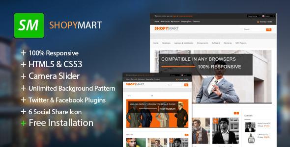 ShopyMart - Responsive HTML5 OpenCart Theme