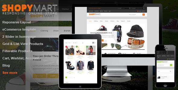 ShopyMart - Responsive html5 ecommerce template Retail