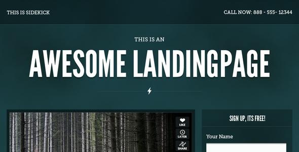 Sidekick Landing Page LandingPages Landing Page