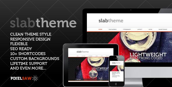 Slab Theme WordPress Creative
