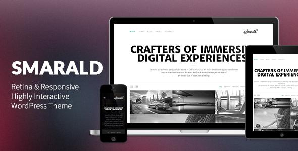 Smarald: Retina Ready Responsive WordPress Theme Creative