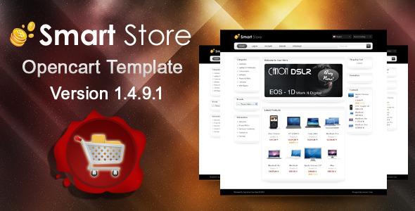 Smart Store Opencart Template