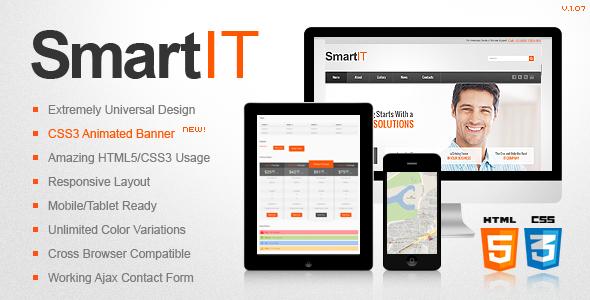 SmartIT Responsive HTML5/CSS3 Template Corporate