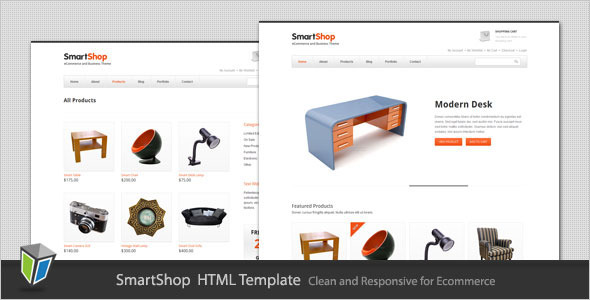 SmartShop - Responsive ECommerce HTML Template Retail