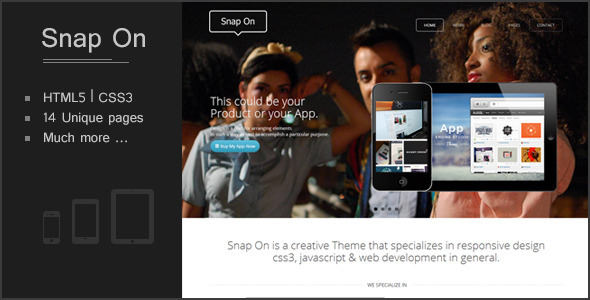 Snap-On Responsive WD Template Creative