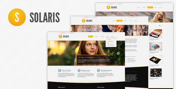 Solaris Drupal Theme Corporate