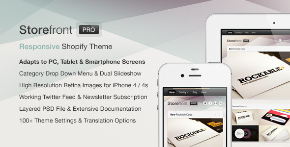 Storefront Pro for Shopify — Premium Theme