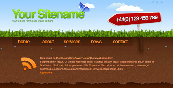 Subterranean - Creative Corporate Or Freelance Site
