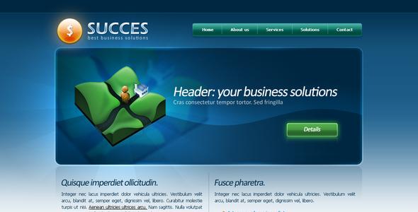 Succes Business Template