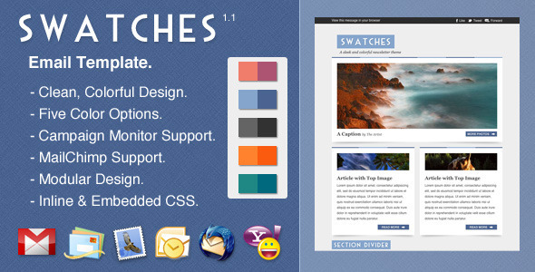 Swatches EmailTemplates Email Template