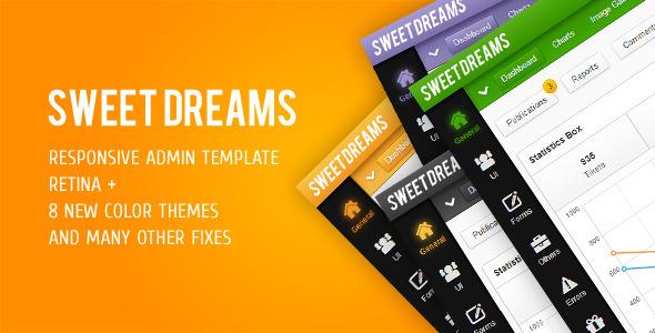 Sweet Dreams Premium Admin Template AdminTemplates