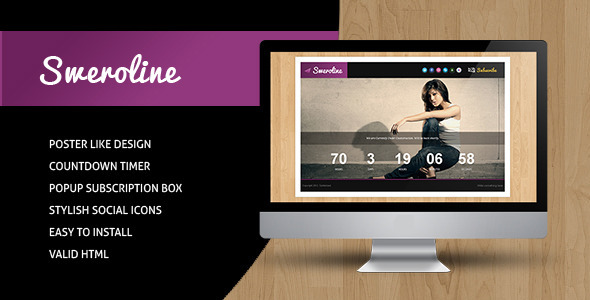 Sweroline - Creative Under Construction Template Specialty Page