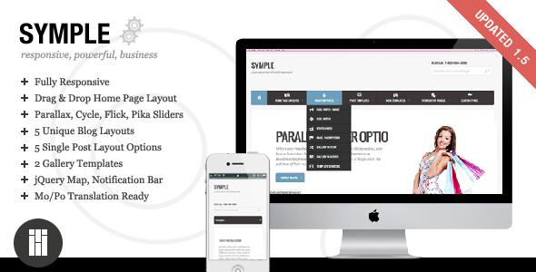 Symple - Business, Responsive, WordPress Corporate