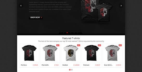 T-shirts - PrestaShop Theme Fashion