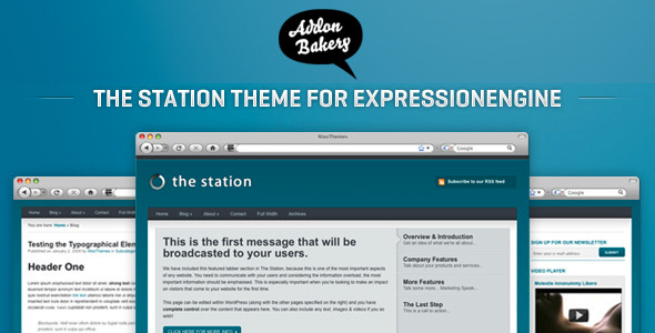 The Station - Multi-Purpose Business EE Theme