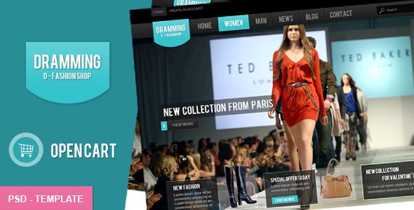 The Fashion Shop PSD Retail