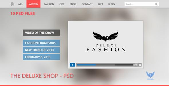 The New Fashion Shop - PSD Retail