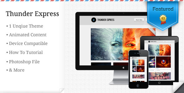 Thunder Express - Clean and Modern Mailing