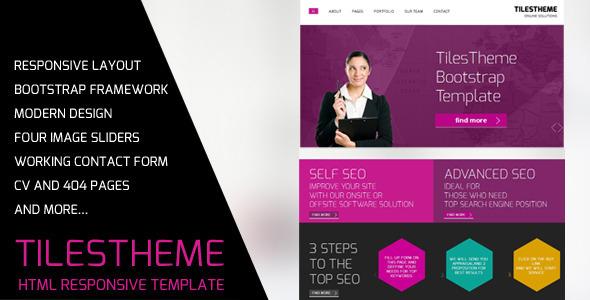 TilesTheme - Bootstrap Business Template Corporate