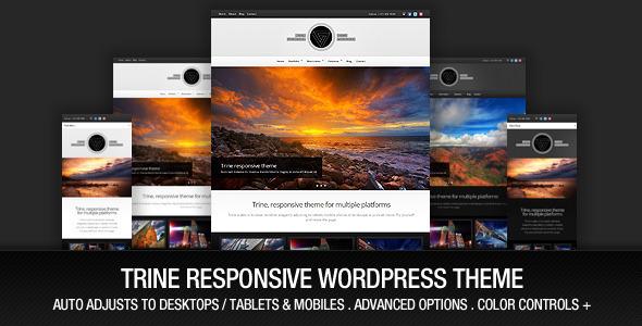 Trine Responsive WordPress Theme Creative