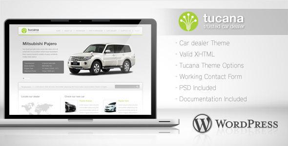 Tucana - Car Dealer Wordpress Theme Retail