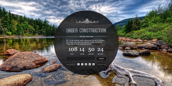 Under Construction - A clean and elegant html5 and SiteTemplates