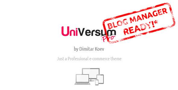 UniVersum Pro - premium responsive OpenCart theme