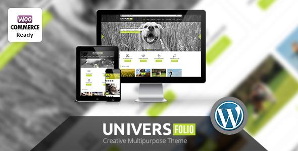 Universfolio - Multipurpose WordPress  Theme