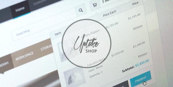 Uptake Shop HTML Template Retail