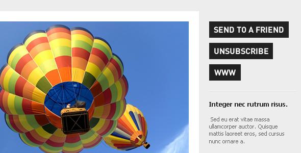 Urban Magazine - Newsletter & Alert Template EmailTemplates