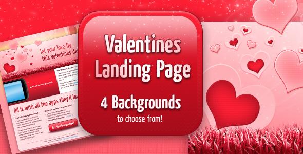 Valentines Landing Page LandingPages Landing Page