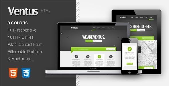 Ventus - Responsive HTML Template Creative
