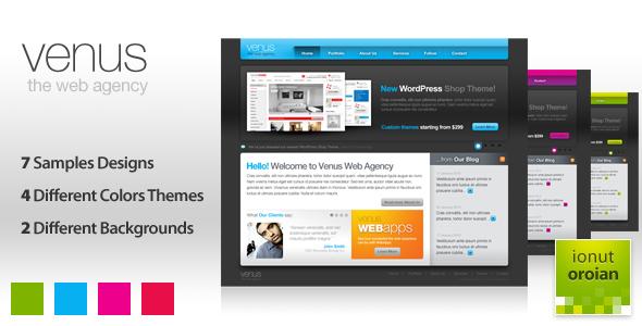Venus - Online Portfolio Creative PSDTemplates