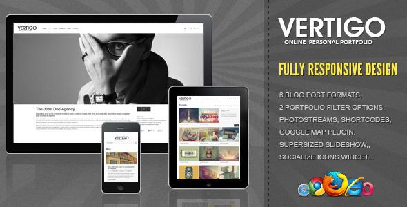 Vertigo - Responsive HTML Template Creative