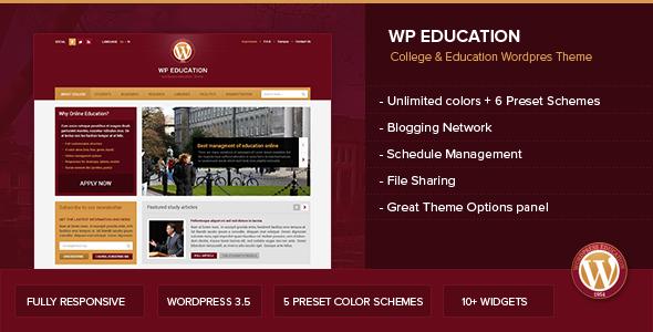 WP Education WordPress
