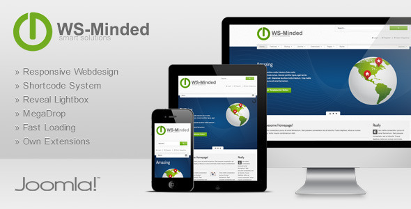 WS-Minded - Responsive Joomla Template Technology