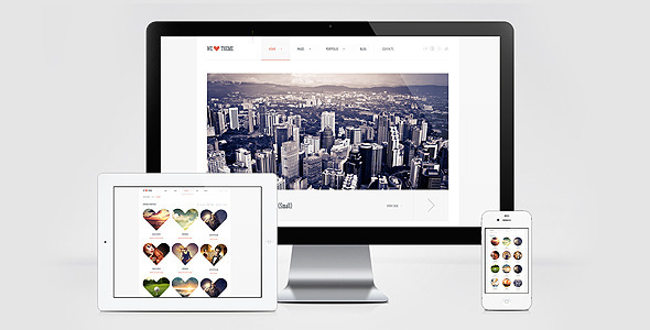 WeLove HTML Template Creative