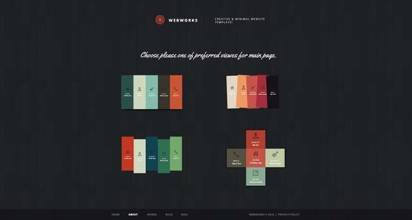 Webworks - Creative PSD Template Creative PSDTemplates