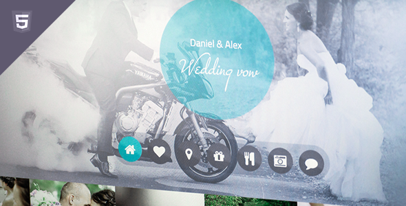 Wedding vow - html responsive template Entertainment