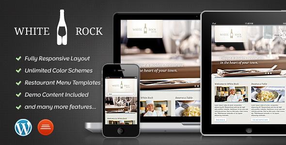 White Rock - Restaurant & Winery Theme WordPress Entertainment