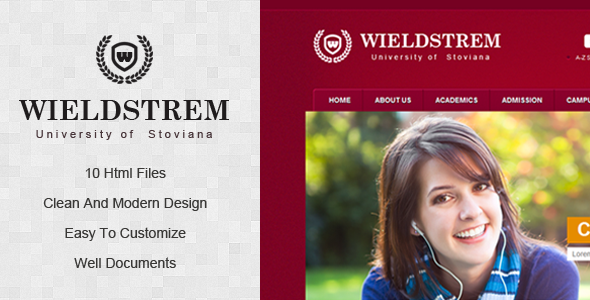 WieldStrem University Template Corporate
