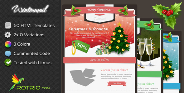 WinterMail - Email Template
