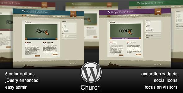 Wordpress Church