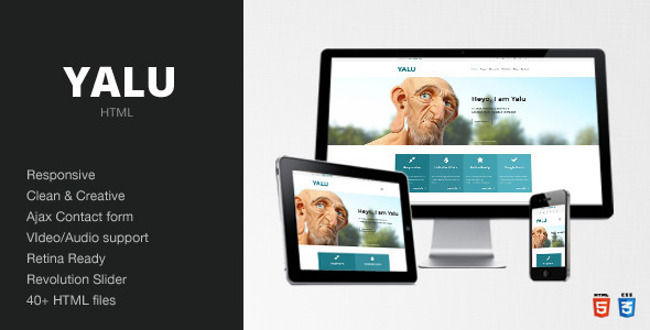 Yalu - Creative Multipurpose Template - HTML Creative