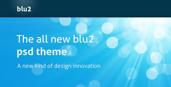 blu2 Creative PSDTemplates