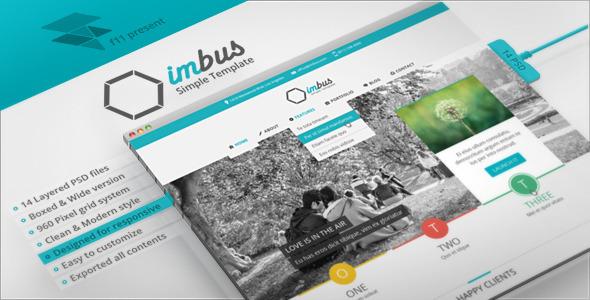 imbus - Simple PSD Template Corporate