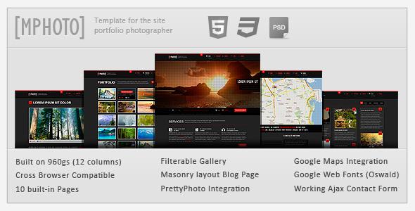 mphoto html Template Creative