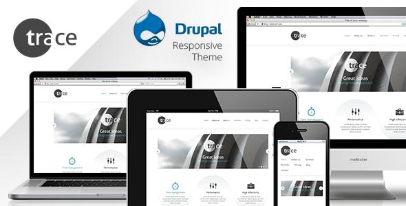 trace - drupal responsive theme Corporate